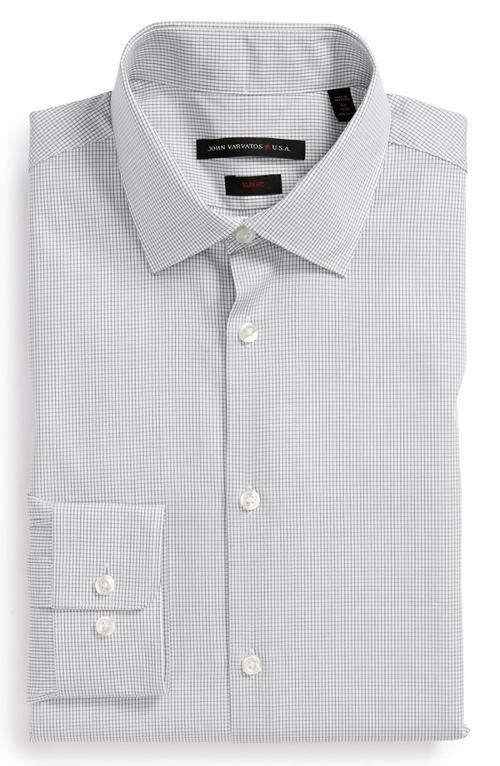 Trim Fit Dress Shirt by John Varvatos Star USA in Gone Girl