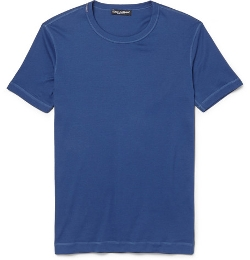 Cotton-Jersey T-Shirt by Dolce & Gabbana in Man of Tai Chi