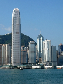 Hong Kong, China by Two International Finance Centre in Blackhat