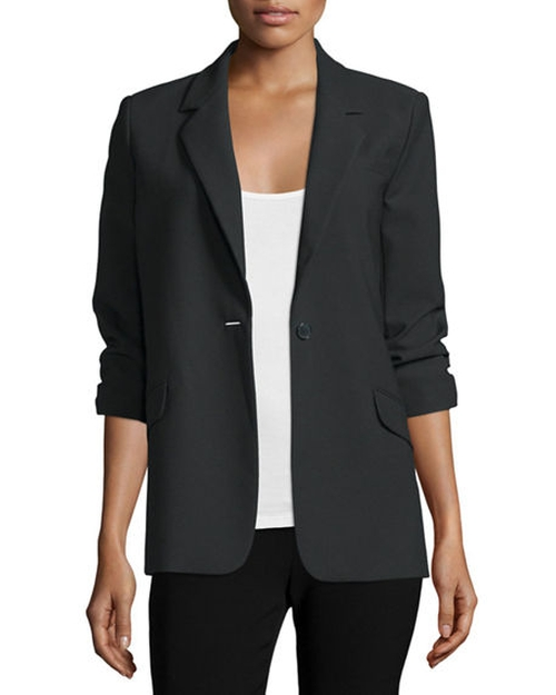 Heritage James One-Button Jacket by Elizabeth and James in Keeping Up With The Kardashians - Season 12 Episode 11