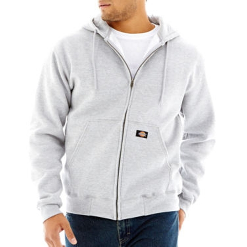 Fleece Full Zip Hoodie Jacket by Dickies in The Proposal