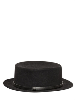Lapin Pork Pie Hat by HTC Hollywood Trading Company in The Hateful Eight