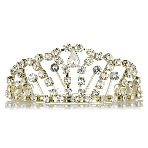 Grace's Gold Tone Princess Tiara by Emitations.Com in McFarland, USA