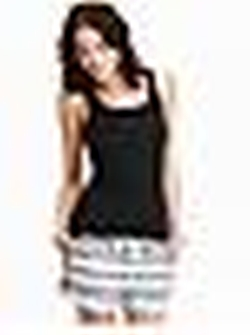 'Perfect Fit' Back Ribbed Tank Top by Old Navy in Pitch Perfect 2