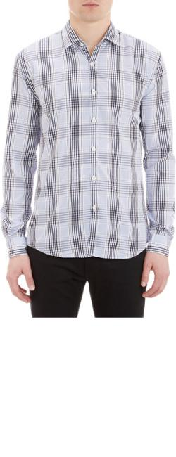 Plaid Dress Shirt by BARNEYS NEW YORK in About Last Night