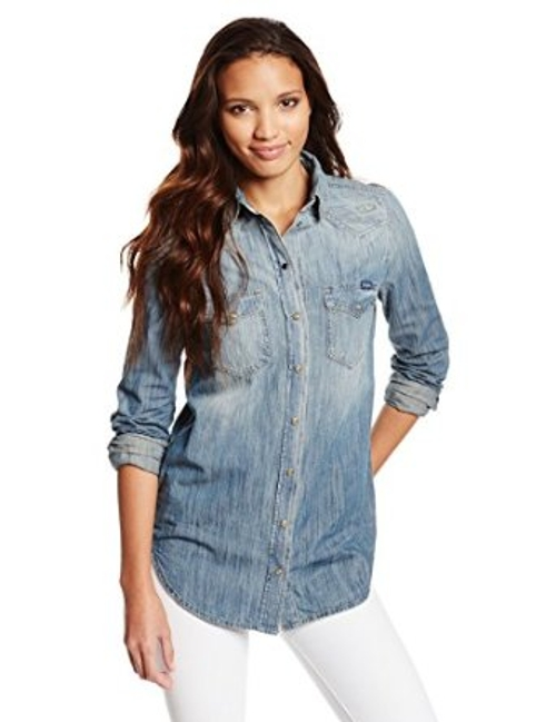 Women's De-Sovy Shirt by Diesel in Self/Less
