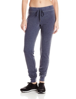Distressed Fleece Tapered Sweatpants by Calvin Klein Performance in She's The Man