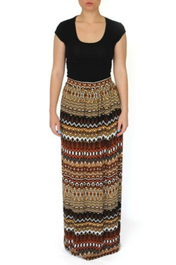 Tribal Handmade Maxi Skirt by Out on a Limb in Wet Hot American Summer