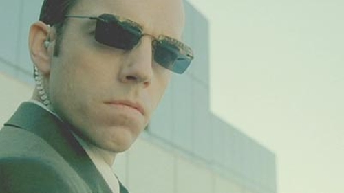 Custom Made Agent Smith Sunglass by Kym Barrett (Costume Designer) in The Matrix