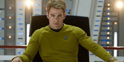 Custom Made Captain Kirk Tunic Uniform by Sanja Milkovic Hays (Costume Designer) in Star Trek Beyond