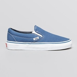 Classic Canvas Slip-On Sneakers by Vans in The Big Bang Theory