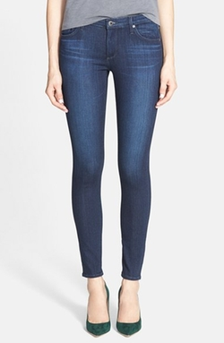 Ankle Super Skinny Jeans by AG in Suits