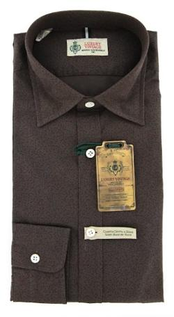 Brown Dress Shirt by Luigi Borrelli in The Best of Me