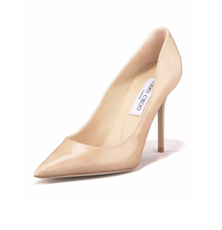 Abel Patent Pointy Toe Pumps by Jimmy Choo in Suits