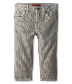 Standard Corduroy in Granite by 7 For All Mankind Kids in Neighbors