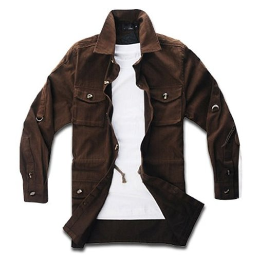 Men's Casual 4 Pockets Winter Cotton Jackets by Your Gallery in Warm Bodies
