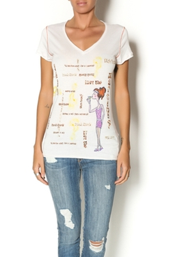 Martini Tee Shirt by Gigi Pop in New Girl