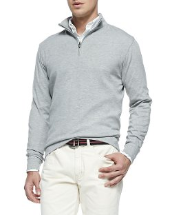 Cotton 1/2-Zip Pullover by Peter Millar	 in The Best of Me