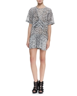 Carline Short-Sleeve Printed Dress by IRO in Mistresses