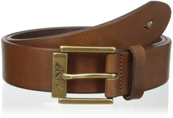 Contrast Buckle Leather Belt by Armani Jeans in Ride Along 2