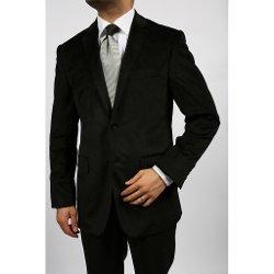 Men's Black Velvet Blazer by Ferecci in Horrible Bosses 2
