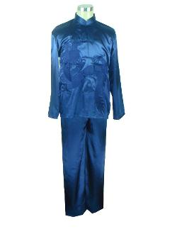 Chinese Men's Embroider Tang Suit by Ali Express in Couple's Retreat