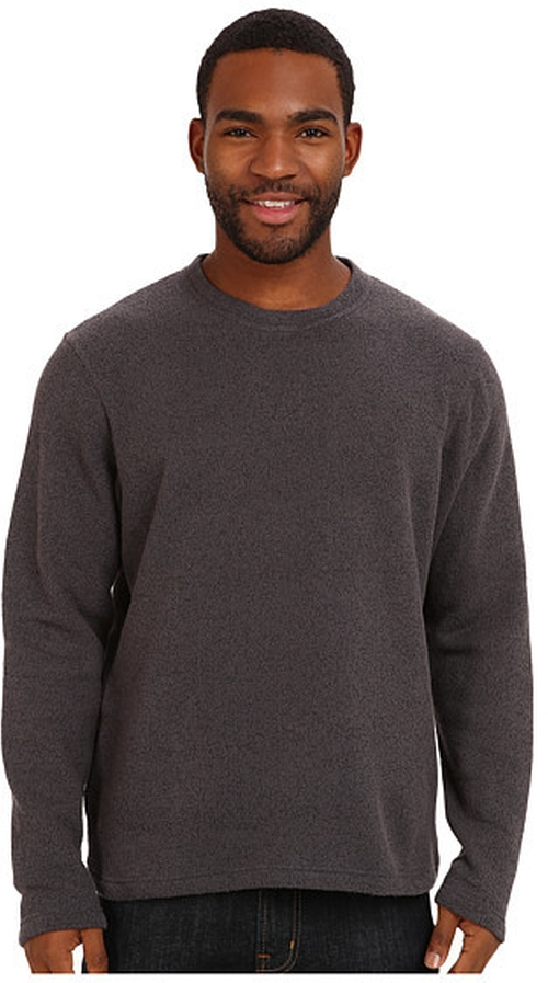 Sherpa Crew Neck Sweater by Prana in Creed