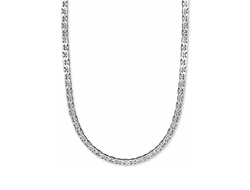 Marina Chain Necklace by Sterling Silver in Ballers