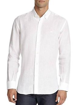 Linen Sportshirt by Salvatore Ferragamo in American Horror Story