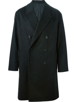 Boxy Double Breasted Overcoat by Ami Alexandre Mattiussi in Life