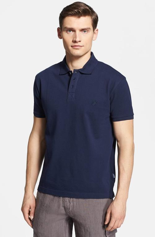 Logo Piqué Polo by Vilebrequin in The Judge