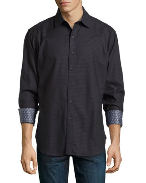 Free Will Button-Front Shirt by Robert Graham in If I Stay