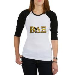 Beta House Fraternity Jr. Raglan by Cafepress in Neighbors