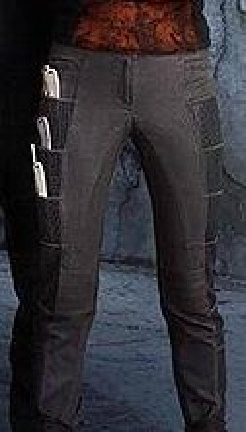 Custom Made Tris Prior 'Dauntless Initiation' Pants by Carlo Poggioli (Costume Designer) in Divergent