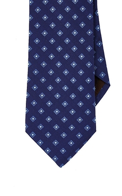 Diamond-Pattern Necktie by Michael Kors in Spotlight