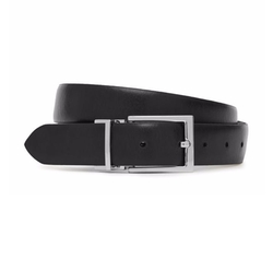 Rovers Reversible Leather Belt by Reiss in American Made
