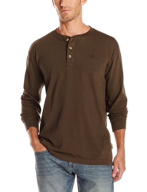 Burke Long Sleeve Henley Shirt by Wolverine in Maze Runner: The Scorch Trials
