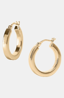Small Hoop Earrings by Argento Vivo in The Longest Ride