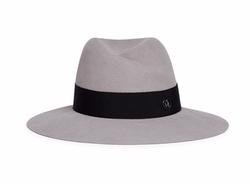 Virginie Swirl Rabbit Furfelt Fedora Hat by Maison Michel in Keeping Up With The Kardashians