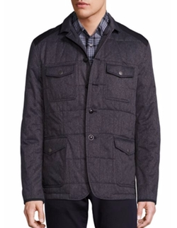 Quilted Utility Jacket by John Varvatos Star USA in How To Get Away With Murder