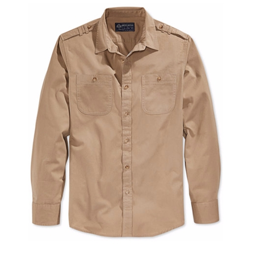 Dual-Pocket Long-Sleeve Shirt by American Rag in Hell or High Water