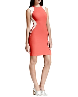 Contour-Colorblock Sheath Dress by Stella McCartney in Supergirl