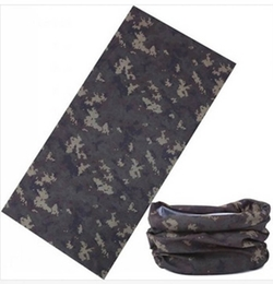 Camouflage Tube Neck Face Mask Headscarf by S Cloth in Everest