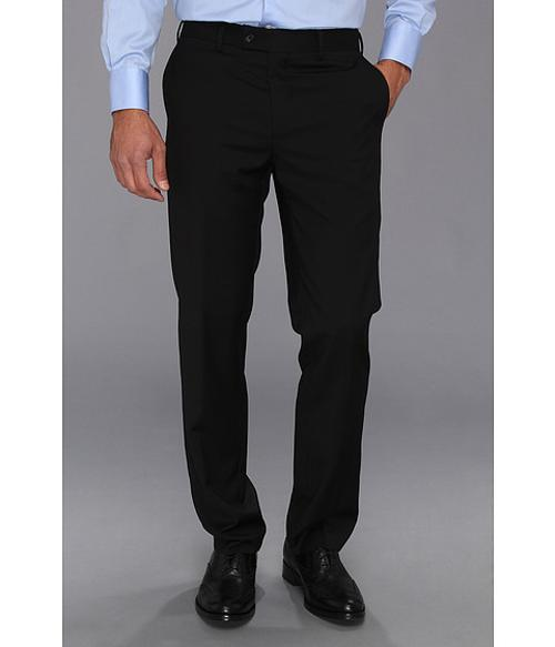 Black Plain Pants by DKNY in Mortdecai