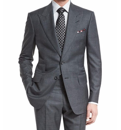 Windsor Base Irregular-Check Suit by Tom Ford in Live By Night