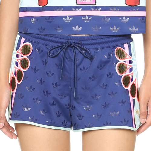Drawstring Ori Shorts by Adidas x Mary Katrantzou in Keeping Up With The Kardashians - Season 11 Episode 11