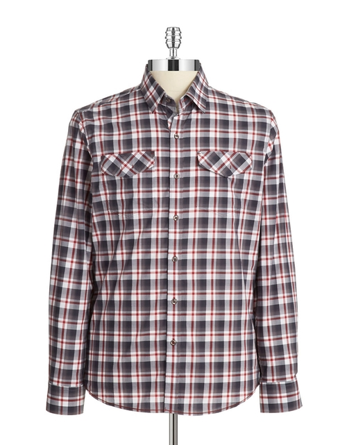 Plaid Sportshirt by 7 Diamonds in Nashville - Season 4 Episode 7