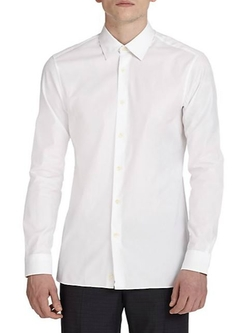 Solid Dress Shirt by Z Zegna in The Second Best Exotic Marigold Hotel