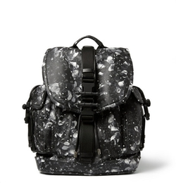 Camo Flower-Print Leather Backpack by Givenchy in Ballers