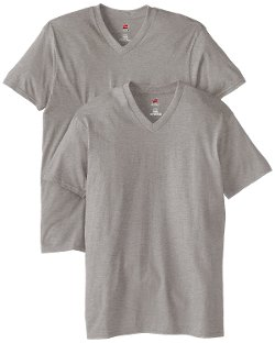 Men's Short Sleeve V-Neck Shirt by Hanes in If I Stay